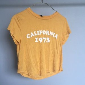 Divided (H&M) Crop Top